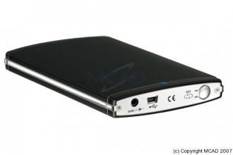 Boitier externe aluminium en USB - Devis sur Techni-Contact.com - 1