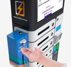 Borne STERIBOX recharge et désinfection UV pour appareils mobiles - Devis sur Techni-Contact.com - 1