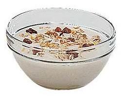 Bol verre pour serviteur à céréales 0.5 Litre - Devis sur Techni-Contact.com - 1