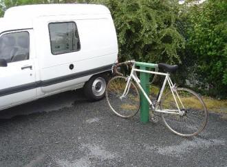 Borne à vélo en plastique recyclé - Devis sur Techni-Contact.com - 2