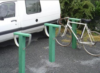 Borne à vélo en plastique recyclé - Devis sur Techni-Contact.com - 3