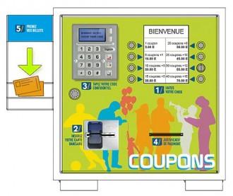 Borne billetterie automatique - Devis sur Techni-Contact.com - 2