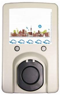 Borne de recharge compacte pour véhicule électrique - Devis sur Techni-Contact.com - 1