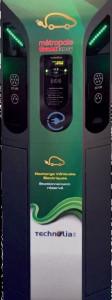 Borne de recharge véhicule - Devis sur Techni-Contact.com - 1