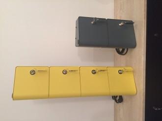 Borne de recharge téléphones portables de 2 casiers à clefs - Devis sur Techni-Contact.com - 6