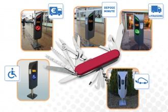 Borne de stationnement et recharge électrique - Devis sur Techni-Contact.com - 3