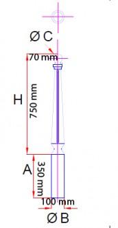 Borne de voirie en fonte ductile - Devis sur Techni-Contact.com - 2