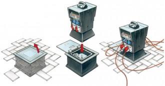 Borne débrochable électrique - Devis sur Techni-Contact.com - 3
