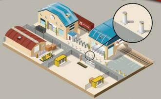 Borne fixe urbaine - Devis sur Techni-Contact.com - 2