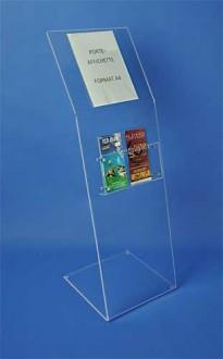 Borne présentoir brochure plexiglas - Devis sur Techni-Contact.com - 2
