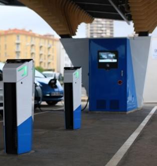 Borne recharge véhicules électrique en voirie - Devis sur Techni-Contact.com - 2