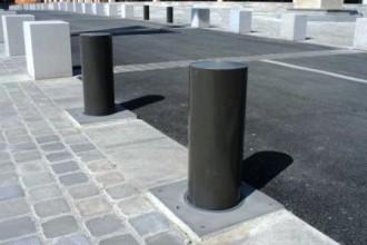 Borne retractable anti stationnement - Devis sur Techni-Contact.com - 1