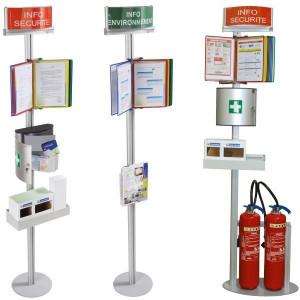 Borne Sécurité pour extincteur - Devis sur Techni-Contact.com - 2