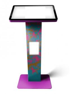 Borne tactile affichage dynamique - Devis sur Techni-Contact.com - 2