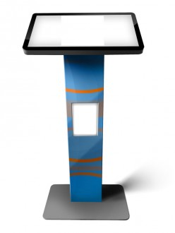 Borne tactile affichage dynamique - Devis sur Techni-Contact.com - 3