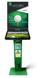 Borne tactile golf - Devis sur Techni-Contact.com - 1