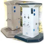 Bornes distributeur d'énergies Camping-cars sur socle - Devis sur Techni-Contact.com - 1