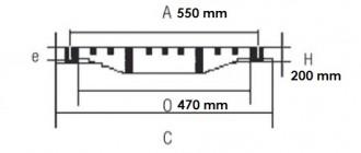 Bouche inodore en fonte C250 - Devis sur Techni-Contact.com - 2
