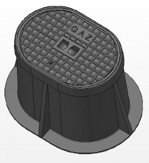Bouche ovale 250 KN C 250 - Devis sur Techni-Contact.com - 1