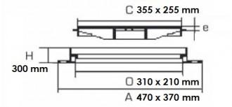Bouche ovale 250 KN C 250 - Devis sur Techni-Contact.com - 2