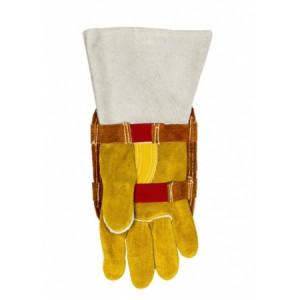 Bouclier de protection de main aluminisé avec dos en cuir Weldas - Devis sur Techni-Contact.com - 1