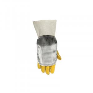 Bouclier de protection de main aluminisé avec dos en cuir Weldas - Devis sur Techni-Contact.com - 2