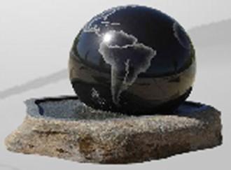 Boule fontaine en granite - Devis sur Techni-Contact.com - 1