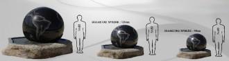Boule fontaine en granite - Devis sur Techni-Contact.com - 2