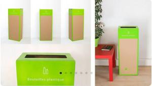 Box de recyclage bouteilles plastique - Devis sur Techni-Contact.com - 2