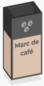 Box de recyclage marc de café - Devis sur Techni-Contact.com - 1
