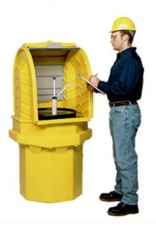 Box de stockage 1 fût 250 L - Devis sur Techni-Contact.com - 1
