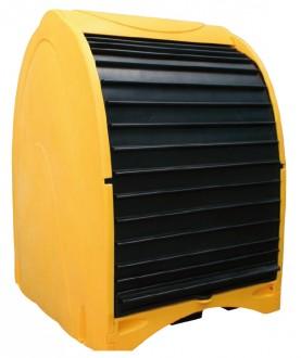 Box de stockage à rideaux pour fûts - Devis sur Techni-Contact.com - 1
