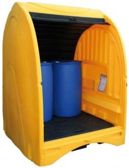 Box de stockage à rideaux pour fûts - Devis sur Techni-Contact.com - 3