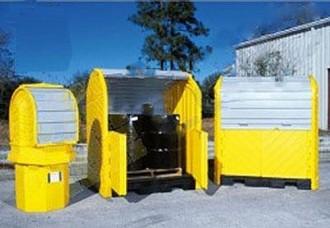 Box de stockage en pehd pour 2 fûts - Devis sur Techni-Contact.com - 2