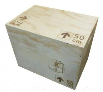 Box jump en bois - Devis sur Techni-Contact.com - 1