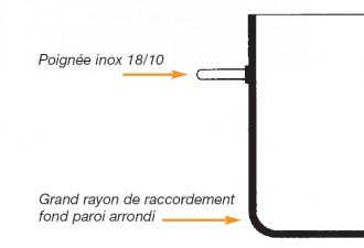 Braisière aluminium diamètre 24 à 50 cm - Devis sur Techni-Contact.com - 2