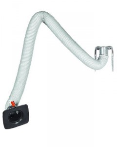 Bras aspirant à tuyau flexible - Devis sur Techni-Contact.com - 1