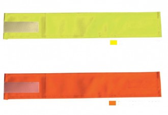 Brassard de sécurité fluorescent - Devis sur Techni-Contact.com - 3