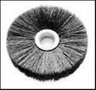 Brosse circulaire acier pour dépolissage et ébavurage - Devis sur Techni-Contact.com - 1