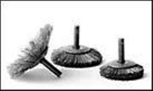 Brosse évasée inox pour nettoyage carbone - Devis sur Techni-Contact.com - 1