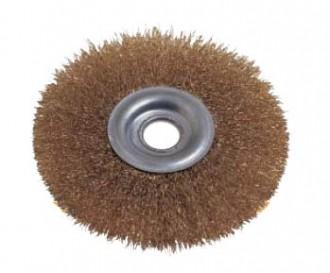 Brosse métallique circulaire pour nettoyage - Devis sur Techni-Contact.com - 1
