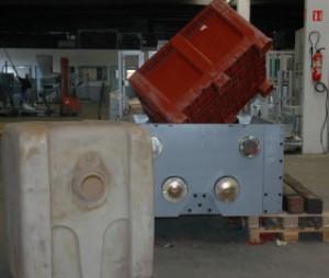 Broyeur industriel à 4 arbres de déchiquetage - Devis sur Techni-Contact.com - 1