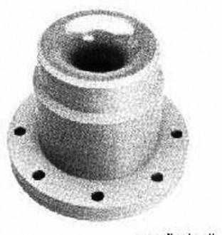 Buse moulée axiale cone plein - Devis sur Techni-Contact.com - 1