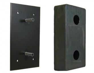 Butée de quai caoutchouc - Devis sur Techni-Contact.com - 1