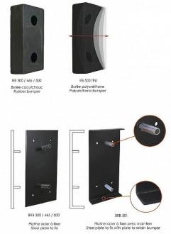 Butée de quai caoutchouc - Devis sur Techni-Contact.com - 4