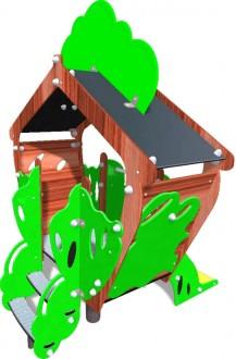 Cabane extérieure pour enfants - Devis sur Techni-Contact.com - 1