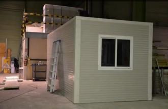 Cabine atelier modulaire en kit - Devis sur Techni-Contact.com - 1