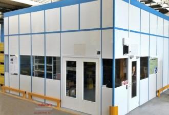 Cabine d'atelier en acier en melaminés - Devis sur Techni-Contact.com - 2