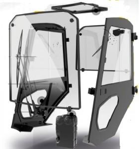 Cabine de chariot élévateur Linde - Devis sur Techni-Contact.com - 1