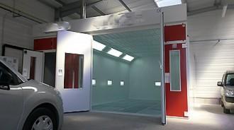 Cabine de peinture à accès laboratoire - Devis sur Techni-Contact.com - 1